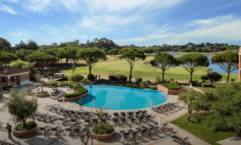 Vista aérea del hotel Onyria Quinta da Marinha