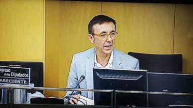 Photo of José Hidalgo, President of FETRI, the voice of Spanish sports at the Congress Reconstruction Table