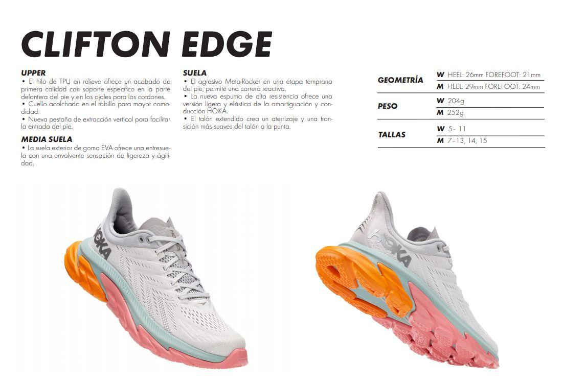HOKA ONE ONE launches the new Clifton Edge shoe