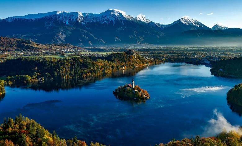 Lake Bled in Slovenia