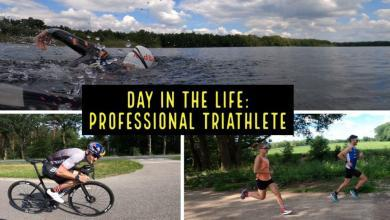 Photo of What is a training day like for a professional triathlete?