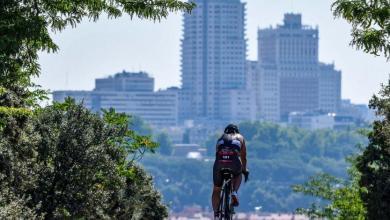El triatlón de Madrid