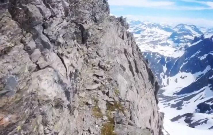 Capture video Kilian Jornet in Romsdal