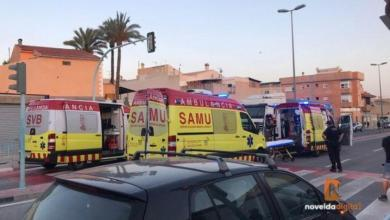 Photo of Two cyclists hit by a truck in Alicante