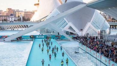 meta del maratón de Valencia