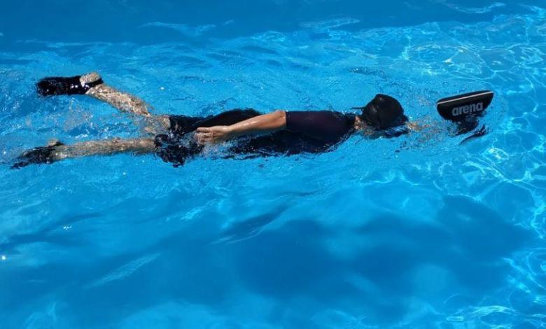 Zubehör Sand für die Schwimmtechnik