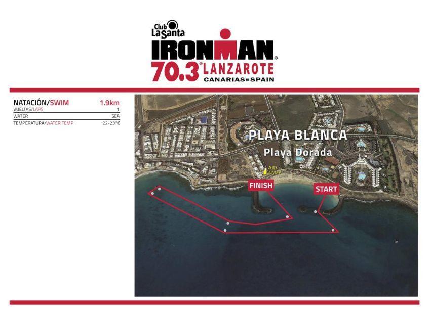 Menos de 100 días para el IRONMAN 70.3 Lanzarote