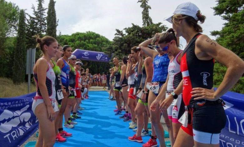 calendario de competiciones de la Federación Aragonesa de Triatlón