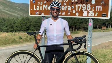 Photo of Alberto contador sigue a tope, 6 subidas a la Morcuera