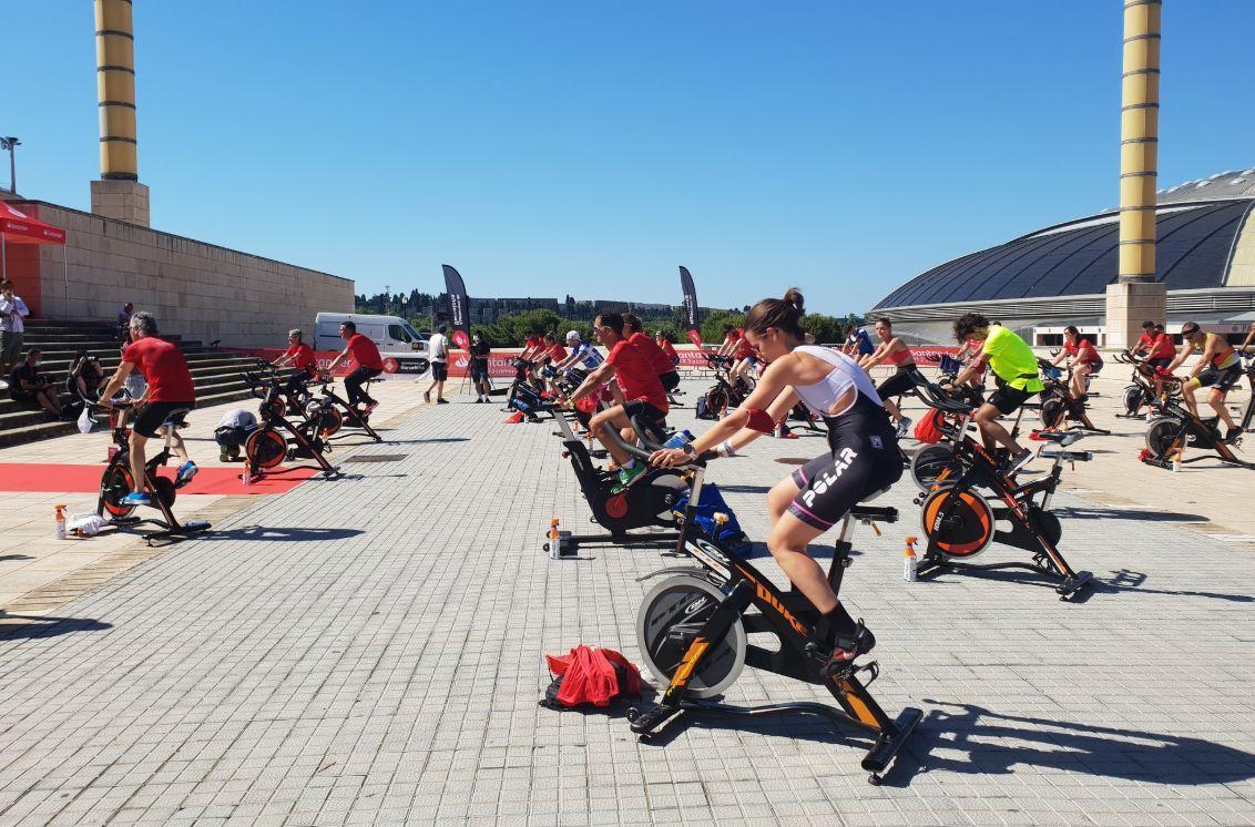 Le triathlon & # 8216; 123 pour revenir à Barcelone & # 8217;, rassemble 500 personnes à Barcelone