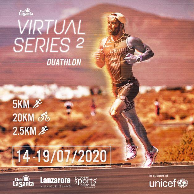 Participantes de 11 países afrontan su primer duatlón en La Club La Santa Virtual Series 2