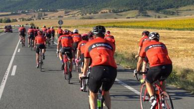 Photo of The La Indurain cycling march is deputed with 1.000 participants