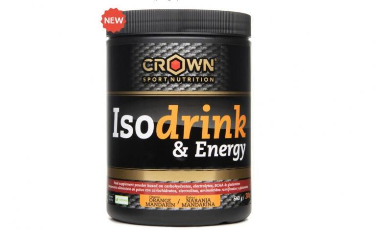 Isodrink & Energy: Orange mandarine