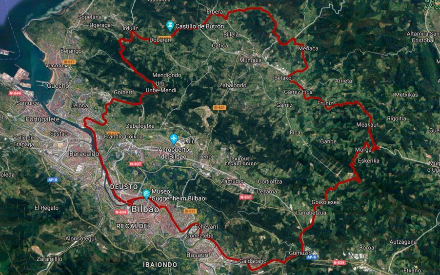 Nuevo circuito ciclista Bilbao Triathlon