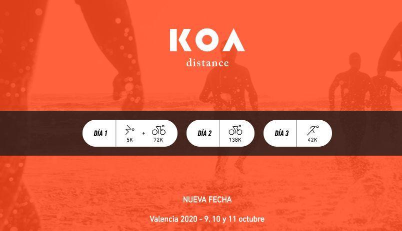 KOA Distance, el medio ultraman se disputará en octubre