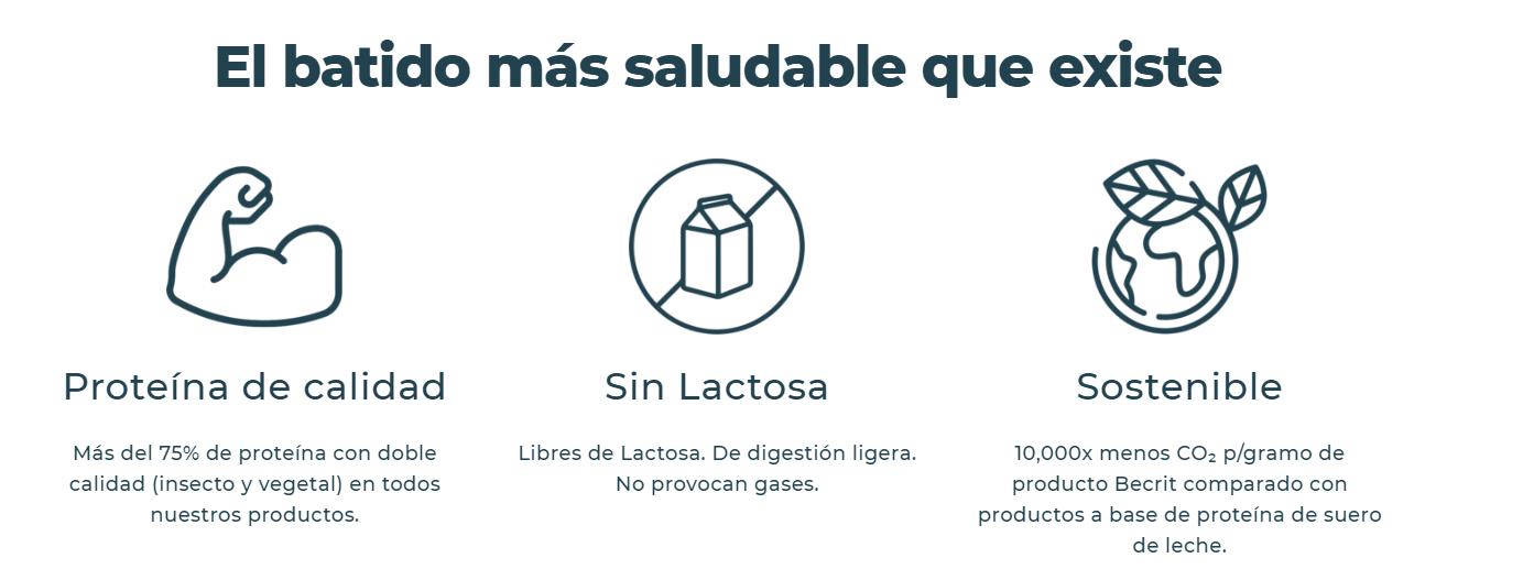 Lanzan el primer batido de proteína de insecto en España