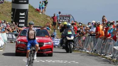 Photo du résumé vidéo Vuelta Burgos étape 3 avec finale dans le haut de Picón Blanco, catégorie spéciale.