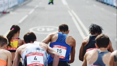 Photo de Plus de 9.500 coureurs ont participé au semi-marathon de Moscou