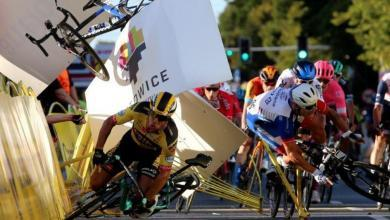 Photo of (Video) Fall in the Tour of Poland sprint: Fabio Jakobsen in an induced coma