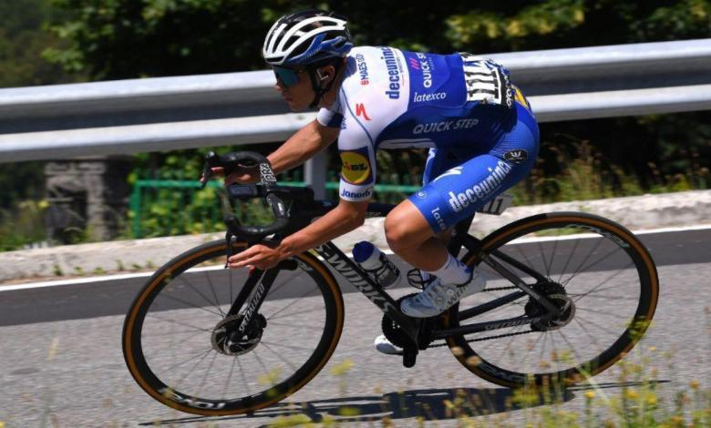 Remco Evenepoel at Il Lombardia