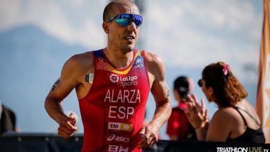 Photo of Fernando Alarza Spanish Champion of Sprint Triathlon 2020