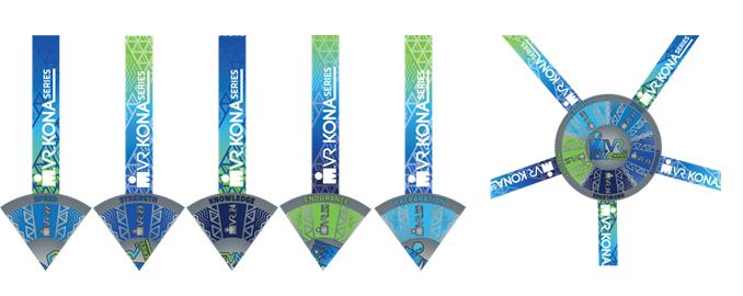 Medallas IRONMAN VR Kona Series
