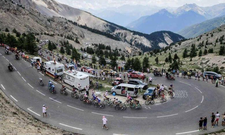 Mountain stage of the Tour de France