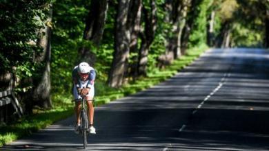 Segmento ciclista del IRONMAN 70.3 gdynia