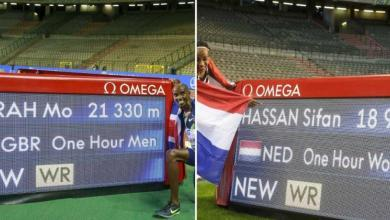 Photo of Mo Farah and Sifan Hassan beat the world hour record