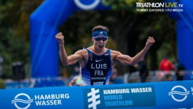 Photo of Vicent Luis 2020 Triathlon World Champion