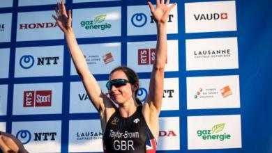 Foto von Georgia Taylor Brown 2020 Triathlon-Weltmeister