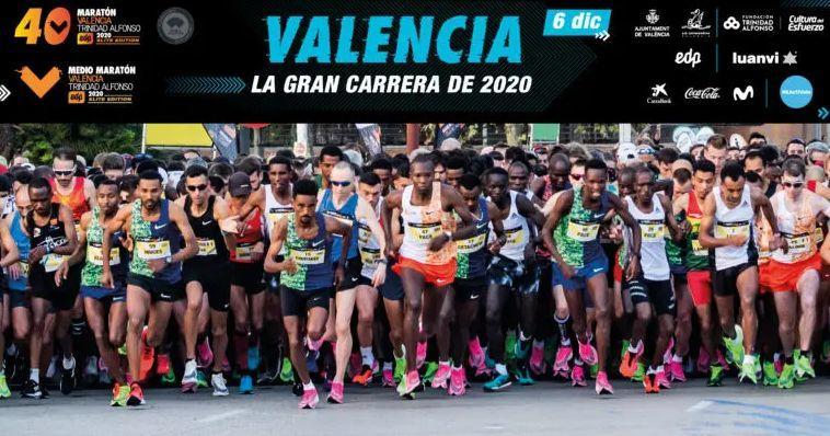Valencia Elite Marathon Rennplakat