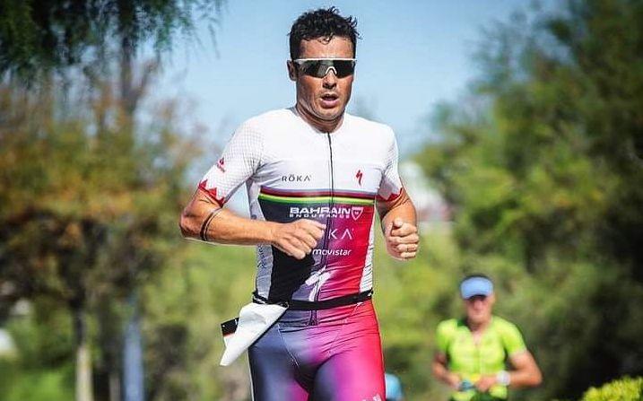 Javier Gómez Noya en el Triatlón de Santander
