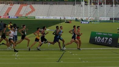 Photo of Mario Mola ninth in the final of the 5.000 meter Spanish Championship