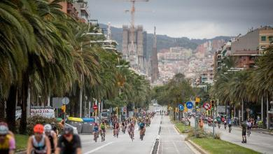 La photo du triathlon de Barcelone est annulée