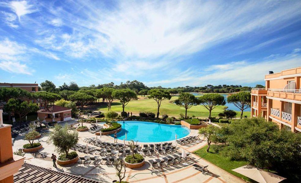 Vista aérea del Hotel Quinta de Marinha Resort
