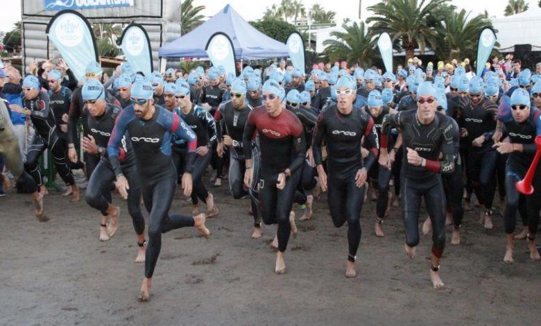 Salida Ocean Lava Lanzarote Triathlon