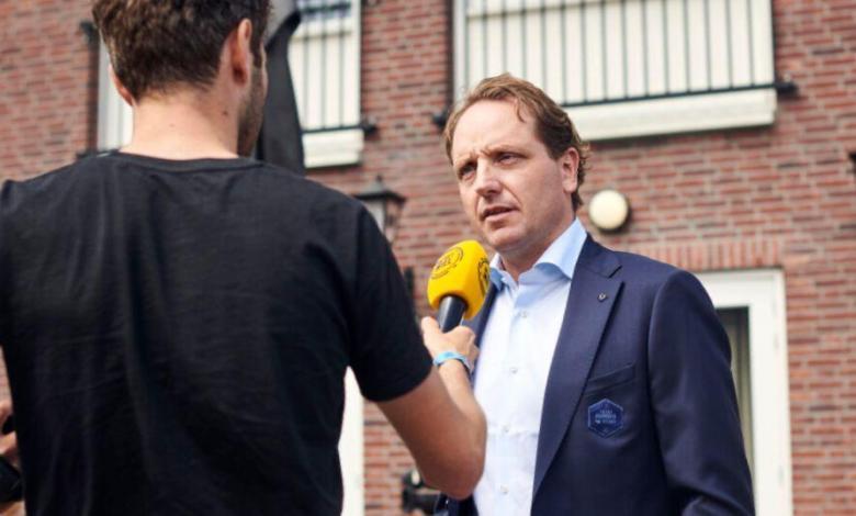 Merijn Zeeman director del Jumbo-Visma
