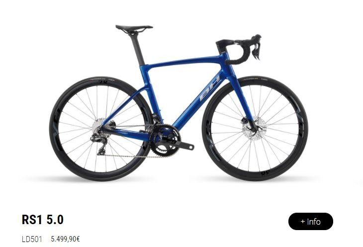 BH launches a new range of bicycles, the BH RS1