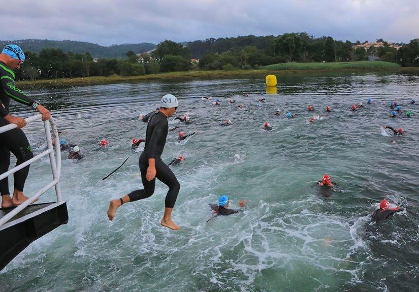 Caminha Triathlon Fähre
