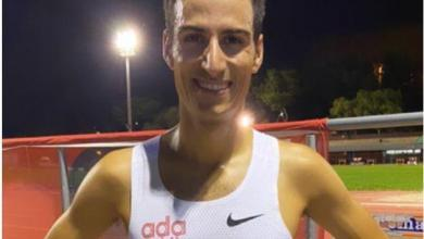 Photo of Mario Mola achieves his best mark in the 3.000 meters