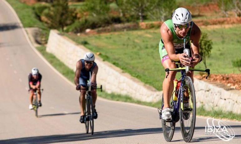 Segmento ciclista del Ibiza Half Triathlon