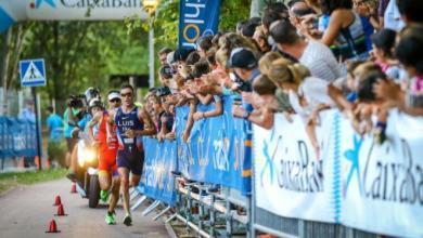 Das Foto von Barcelona wird im Oktober einen Triathlon-Europapokal ausrichten
