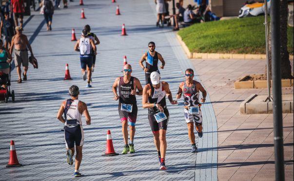 Valencia Triathlon Laufsegment