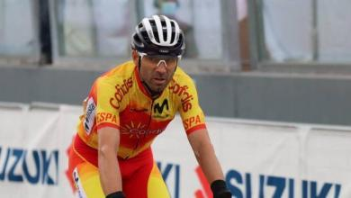 Photo of Alejandro Valverde Top10 in the Imola Cycling World Cup