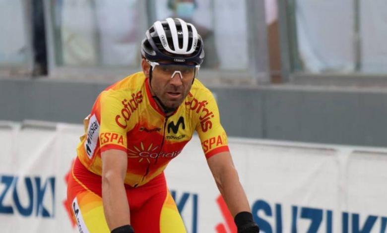 Alejandro Valverde at the Imola World Cup