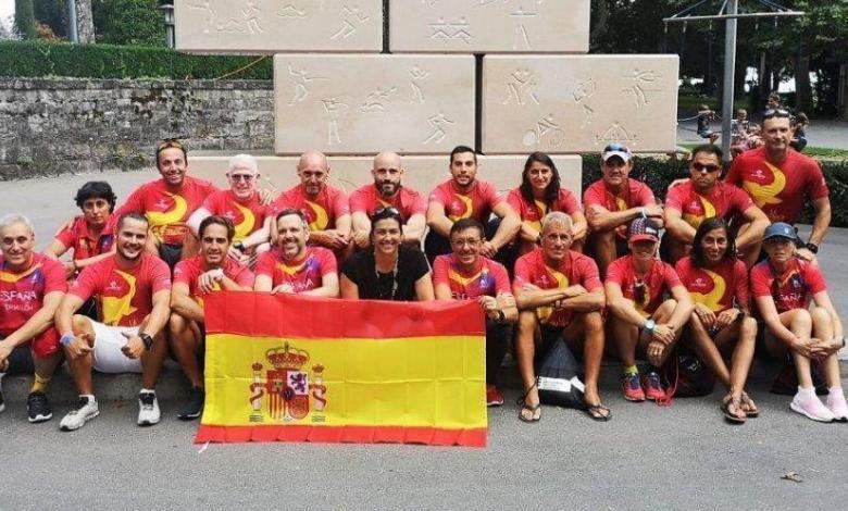 Altersgruppen und spanischer Triathlonverband