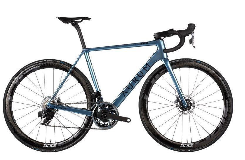Magma, das neue Fahrrad von Alberto Contador