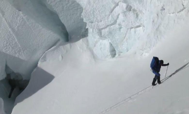 Aufnahme des Dokumentarfilms Path to Everest