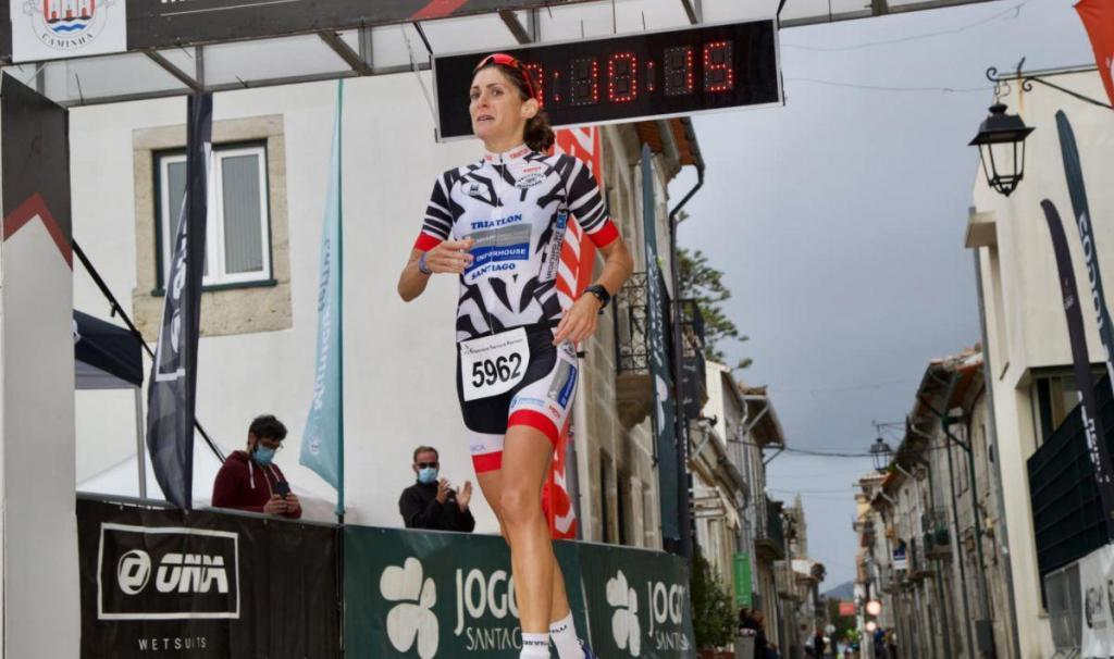 Aida Valiño wins the Iberian Triathlon Championship of Portugal